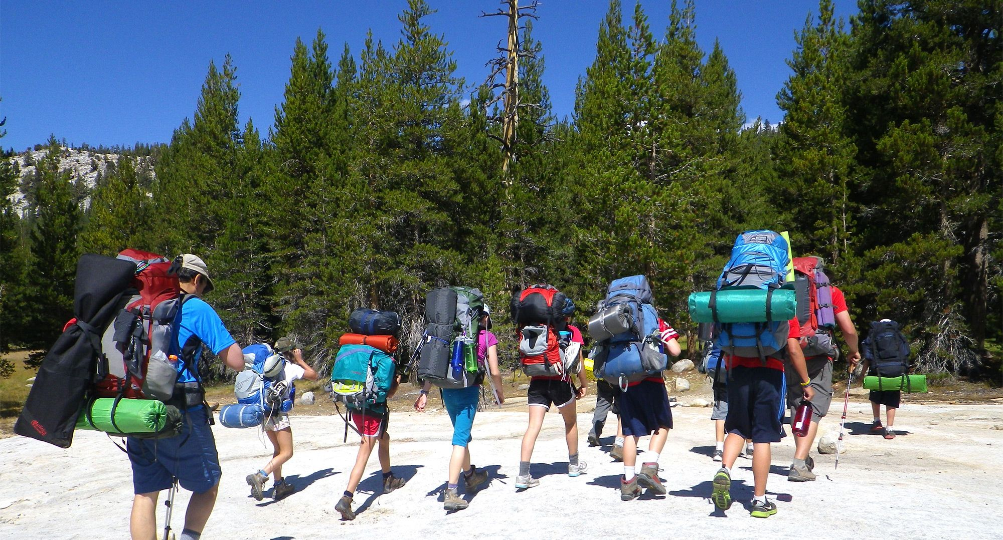 Naturalists At Large, Backpacking